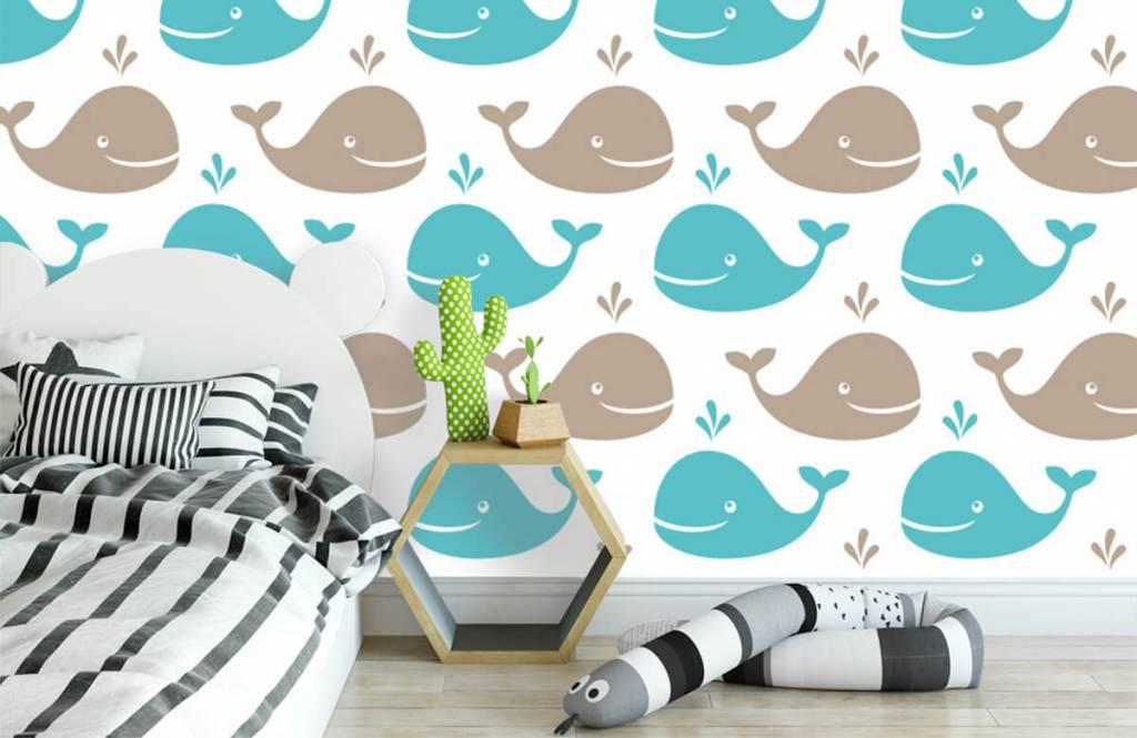 Aquatic Animals - Whales - Children's room 3