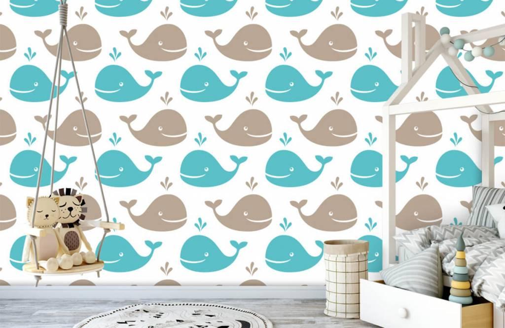 Aquatic Animals - Whales - Children's room 4