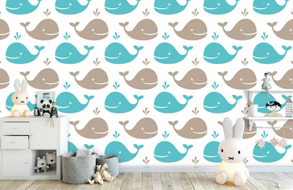 Aquatic Animals - Whales - Children's room 5
