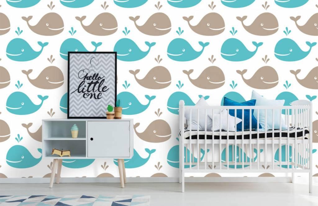 Aquatic Animals - Whales - Children's room 6