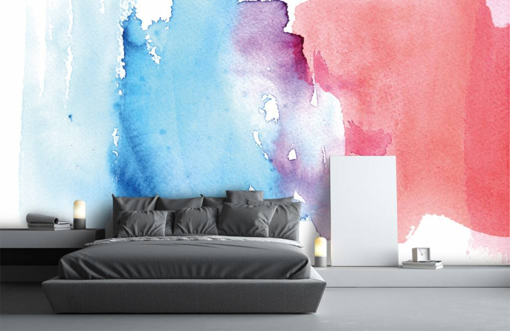 Abstract - Watercolor - Entrance 3