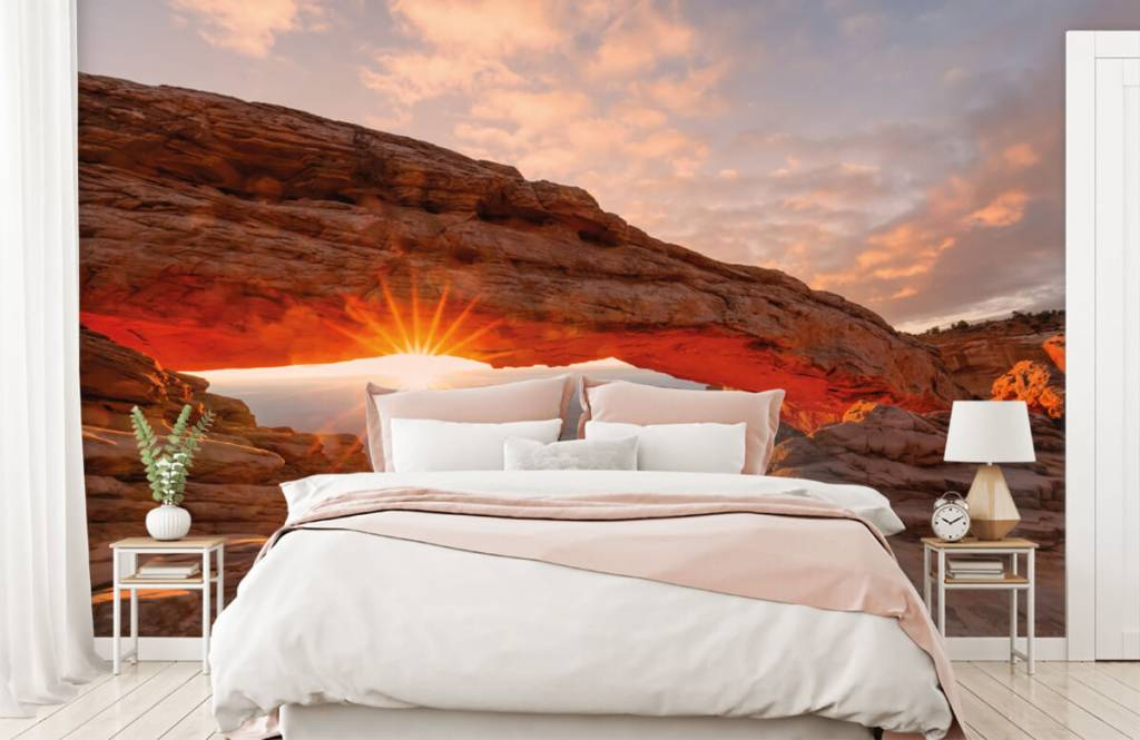 Mountains - Sunset under rocks - Bedroom 1