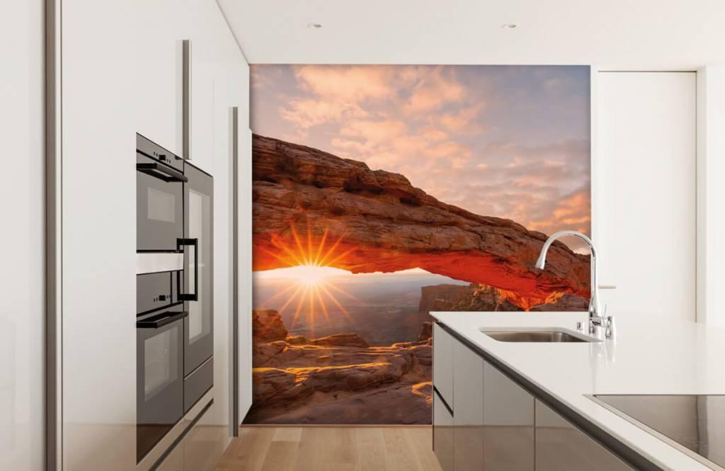 Mountains - Sunset under rocks - Bedroom 3