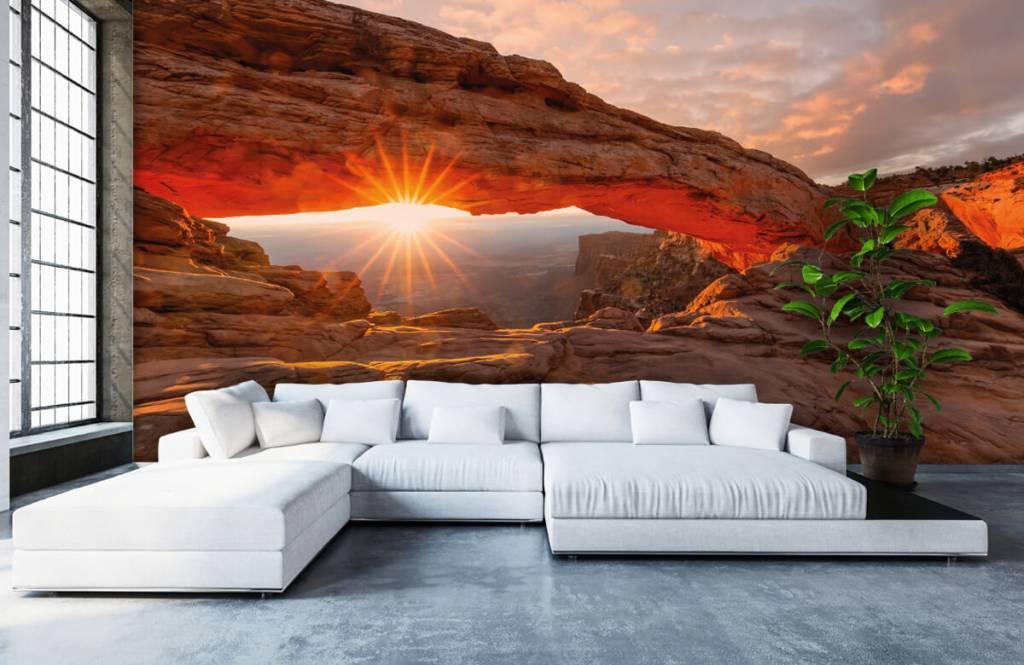 Mountains - Sunset under rocks - Bedroom 5