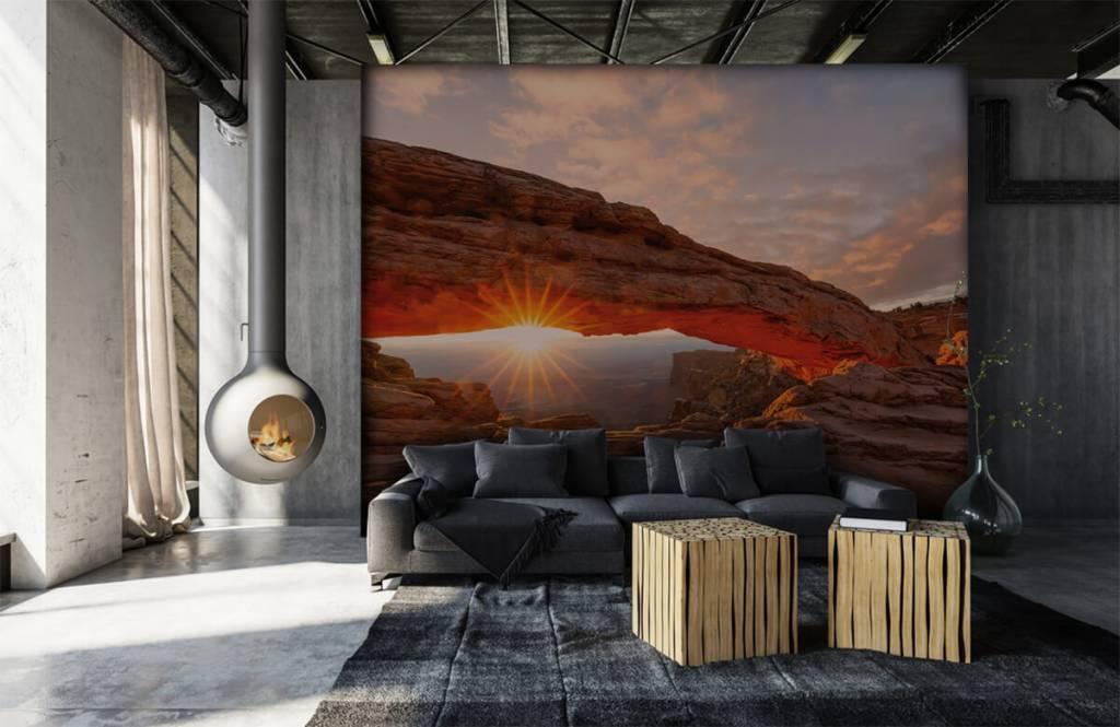 Mountains - Sunset under rocks - Bedroom 6
