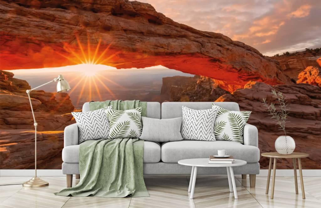 Mountains - Sunset under rocks - Bedroom 7