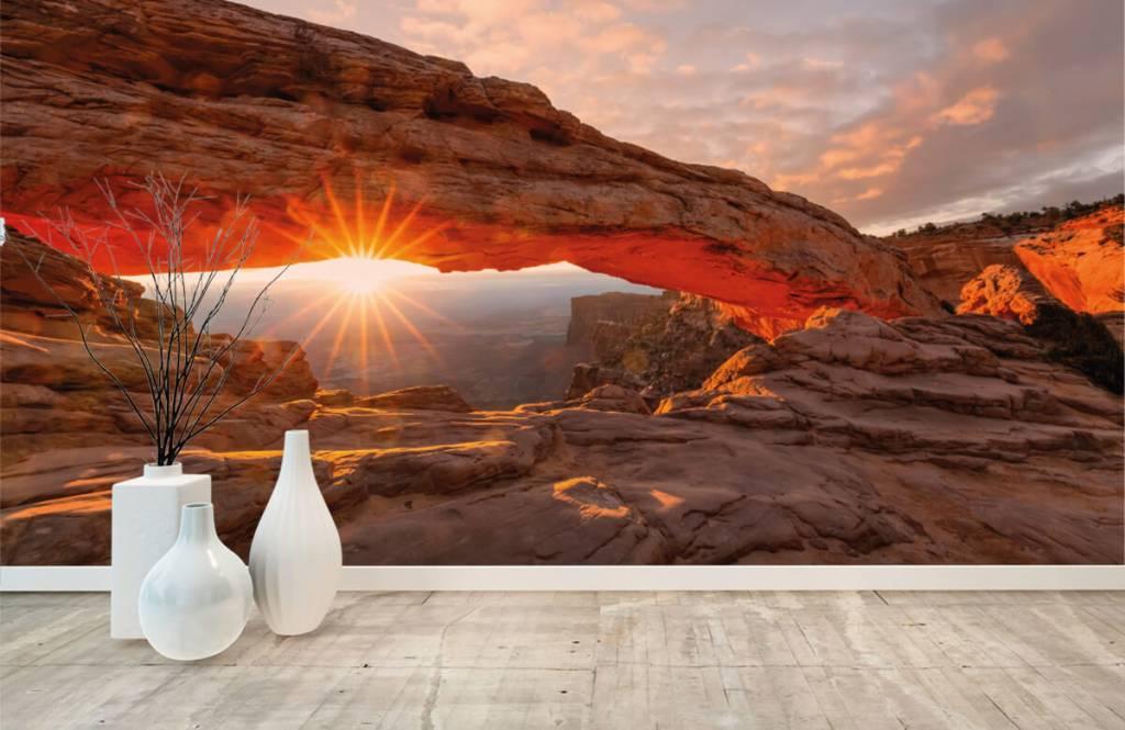 Mountains - Sunset under rocks - Bedroom 8