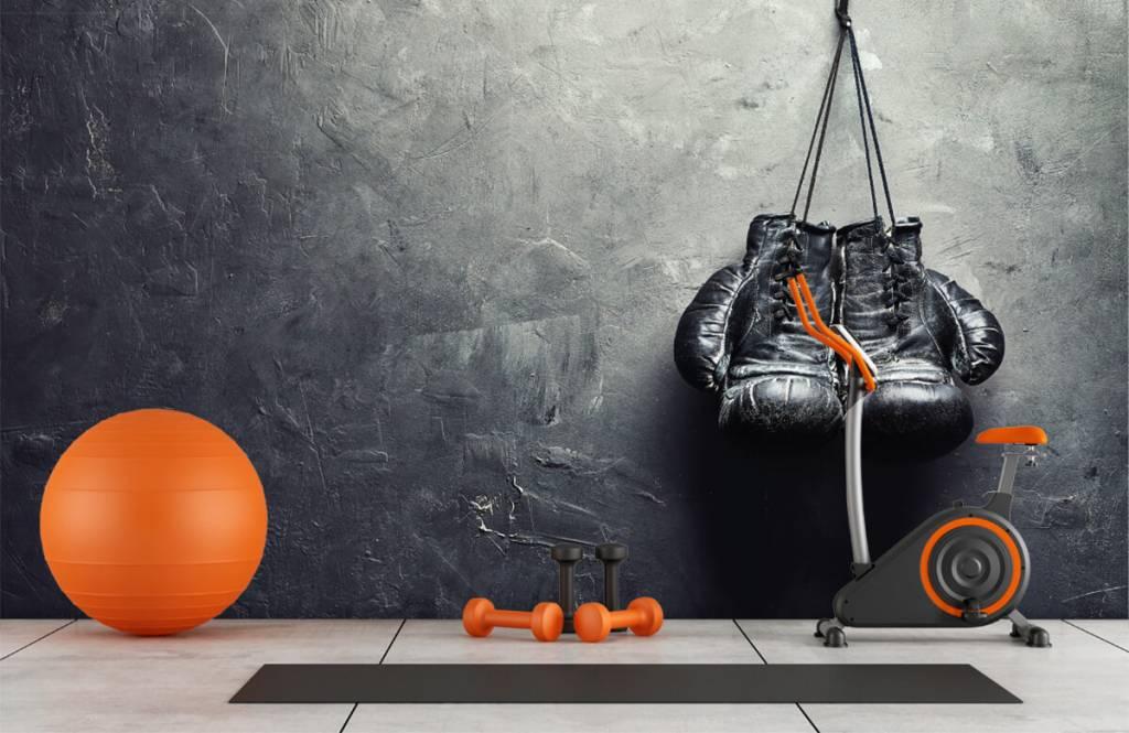 Fitness - Black boxing gloves - Hobby room 1