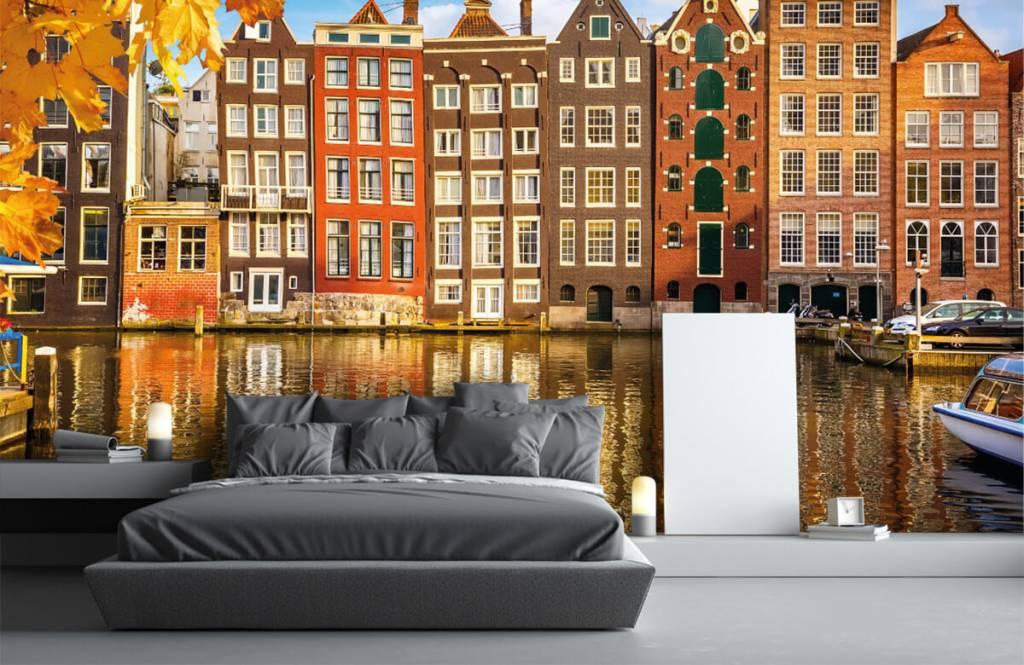 Cities wallpaper - Amsterdam - Bedroom 2