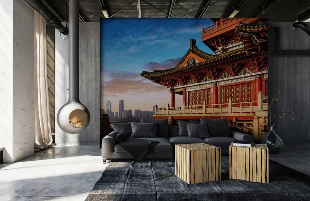 Cities wallpaper - China - Bedroom 7