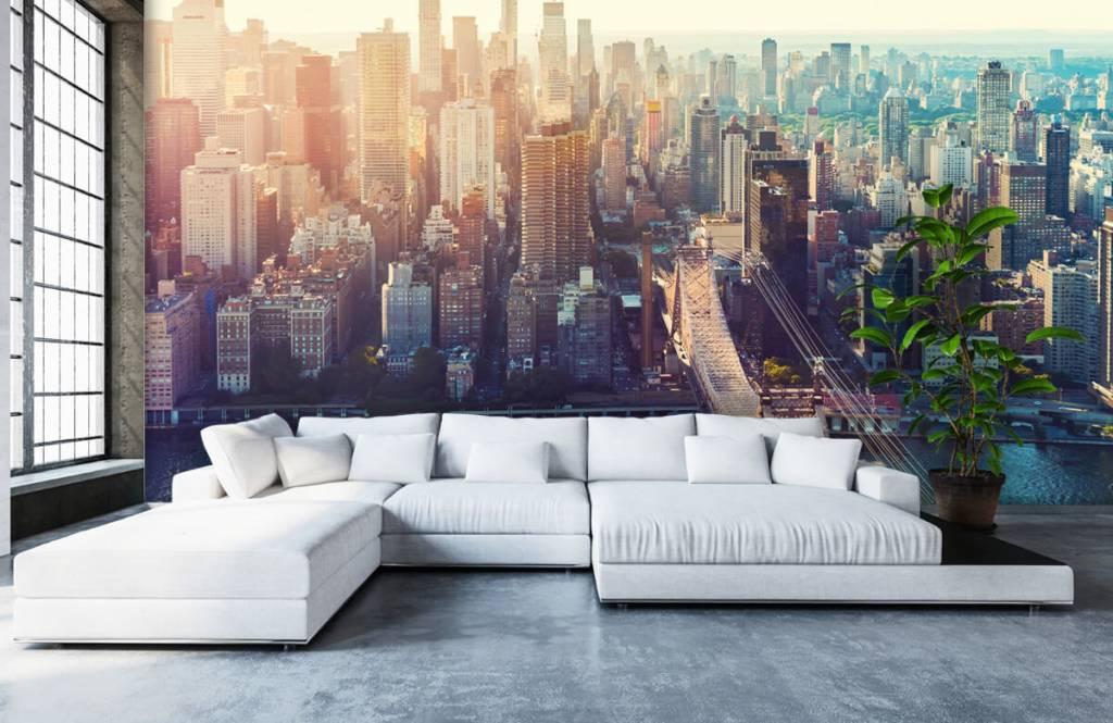 Retro wallpaper - New York City - Teenage room 1