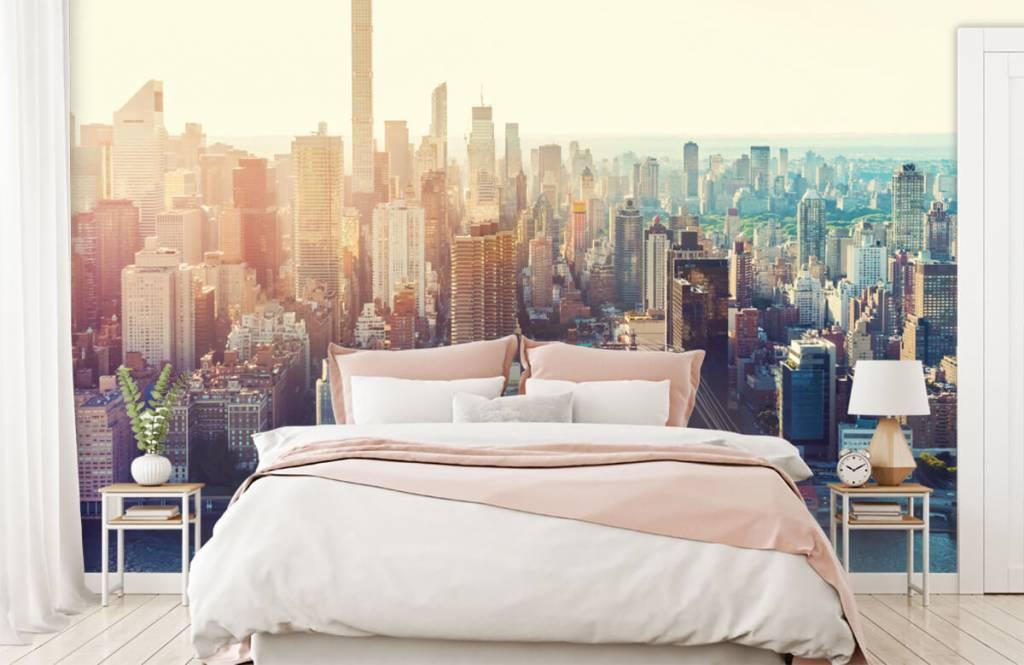 Retro wallpaper - New York City - Teenage room 2