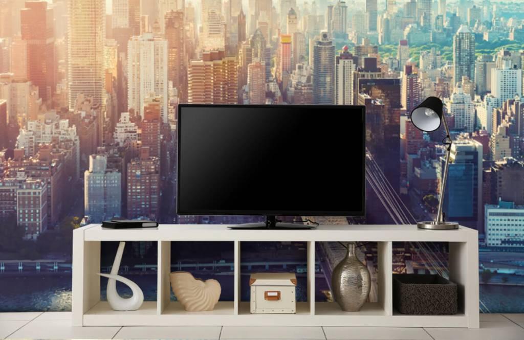 Retro wallpaper - New York City - Teenage room 5