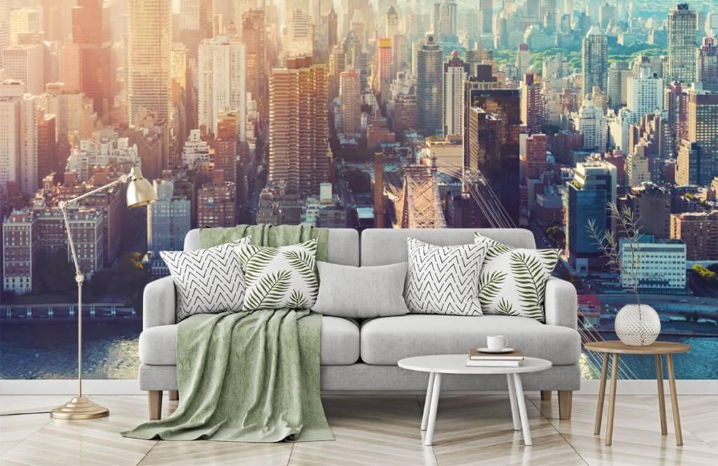 Retro wallpaper - New York City - Teenage room 7
