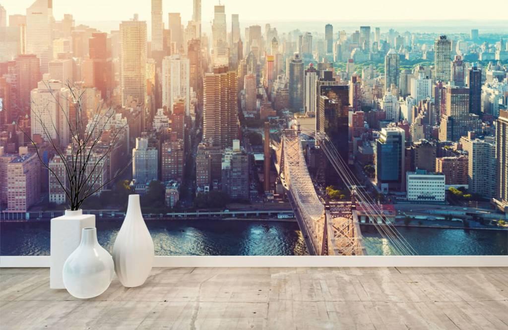 Retro wallpaper - New York City - Teenage room 8