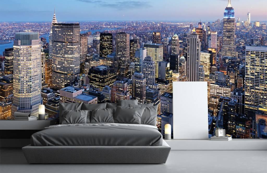 Cities wallpaper - New York - Teenage room 3