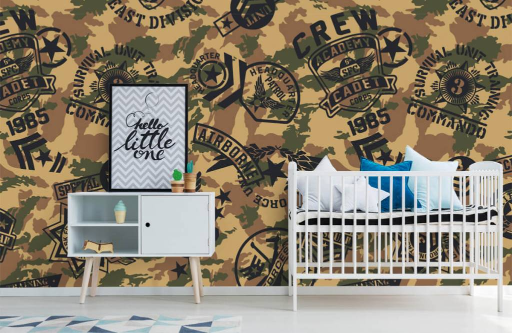 Other - Camouflage with logos - Children's room 6