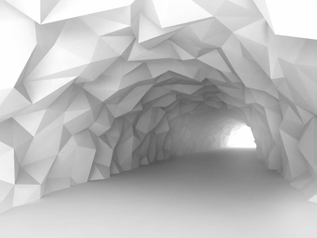 Other - Pointed tunnel in 3D - Teenage room