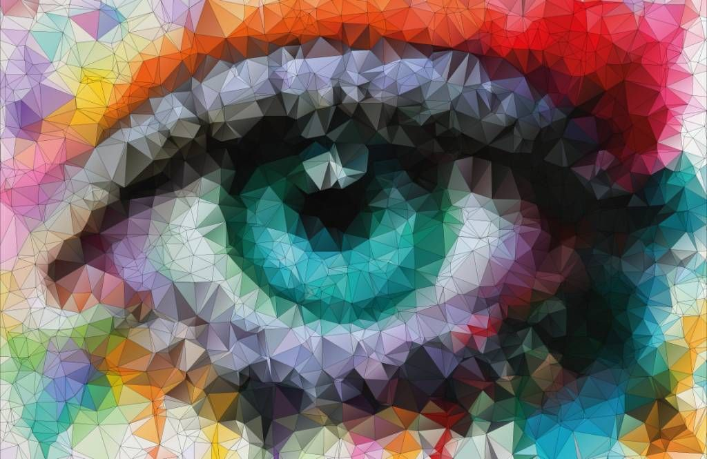 Portets and faces - Abstract eye - Hobby room