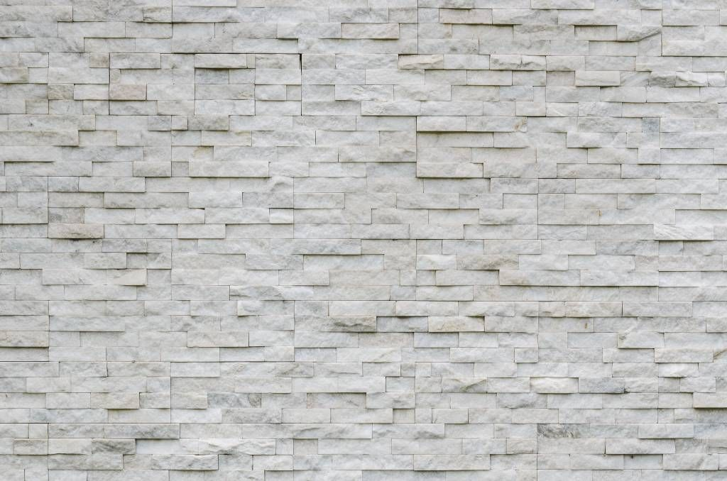 Stone wallpaper - Modern stone wall - Cafeteria