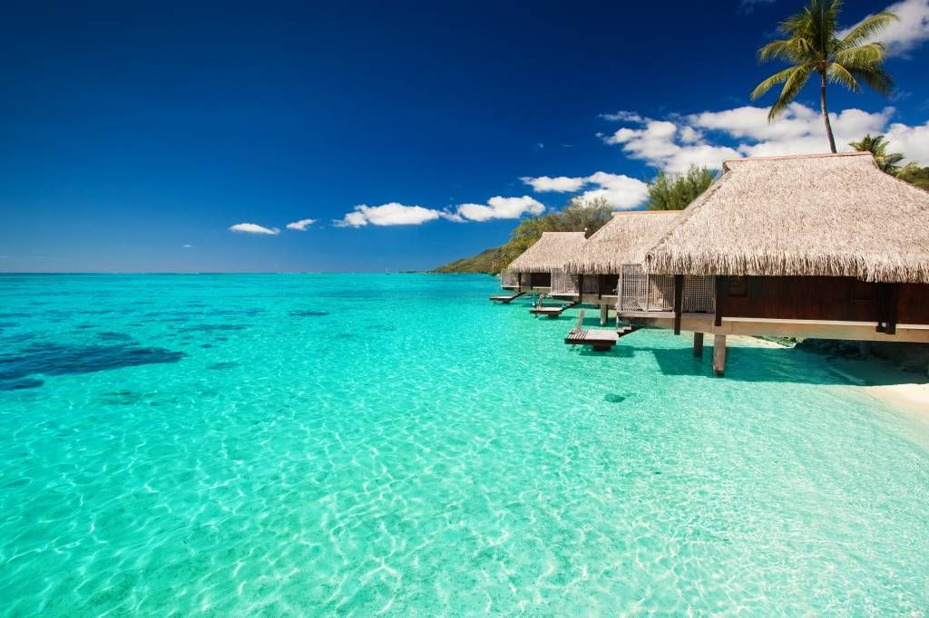 Beach wallpaper - Cottages in the Maldives - Hobby room