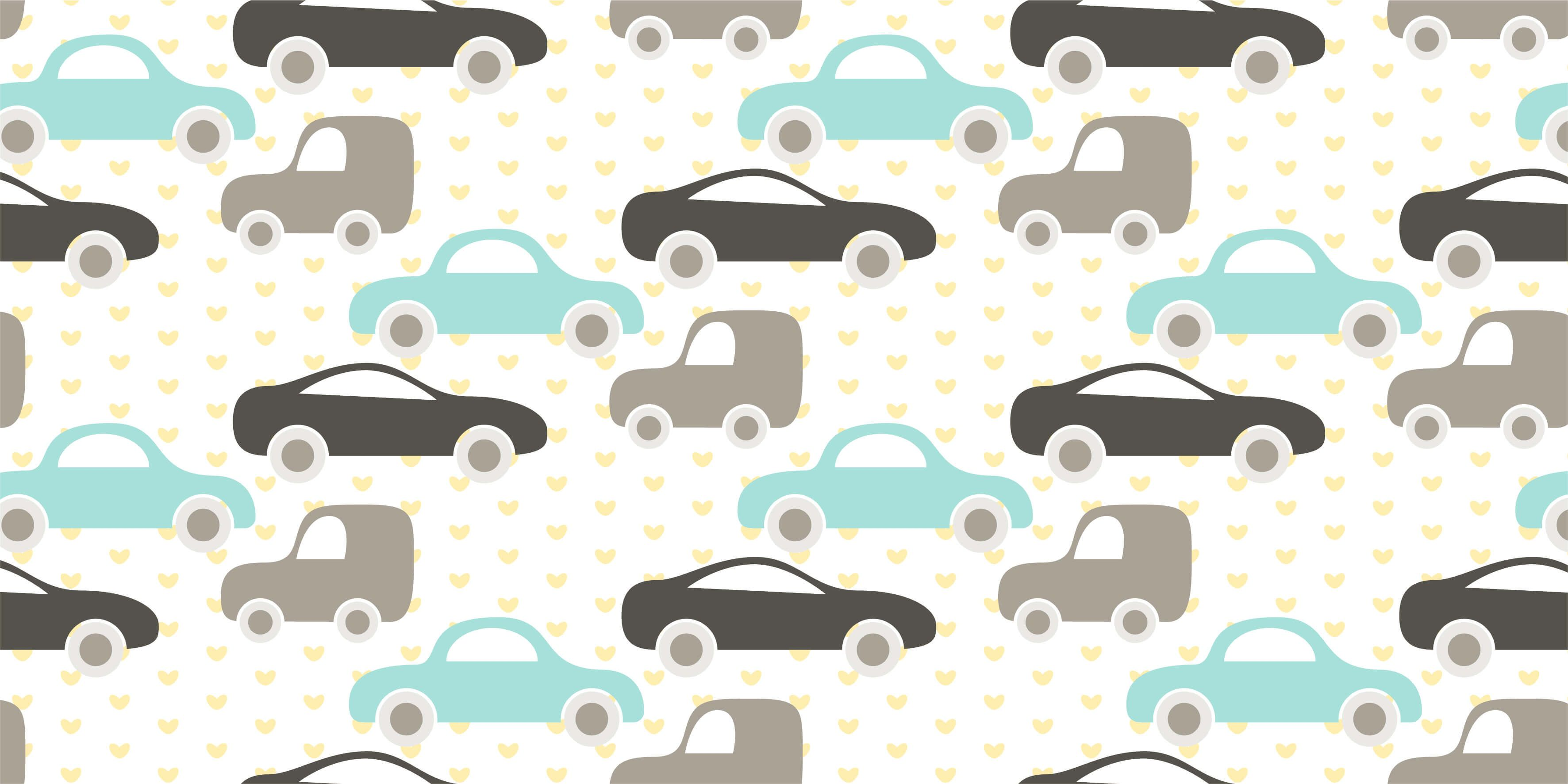 Baby wallpaper - Toy Cars - Baby room