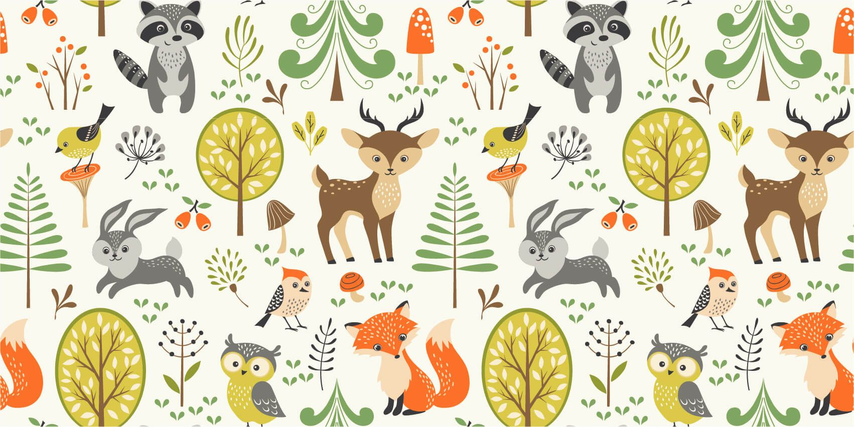 Other - Animals in the forest - Children's room