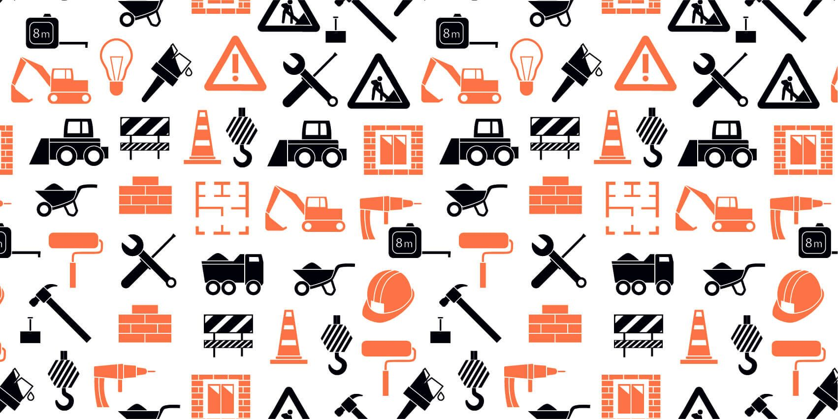 Other - Construction vehicles and building materials - Children's room