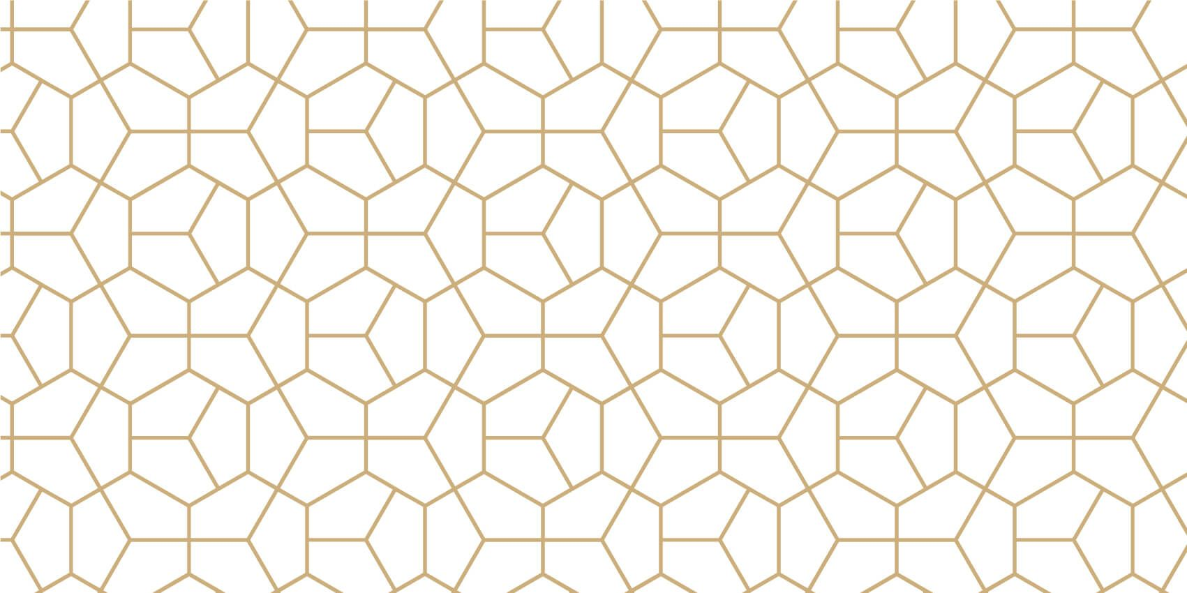 Other - Gold geometric pattern - Bedroom