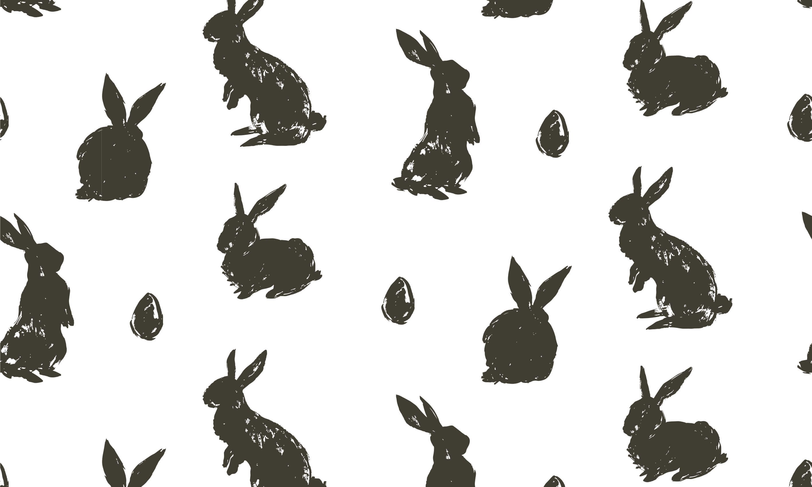 Pattern Easter Bunny