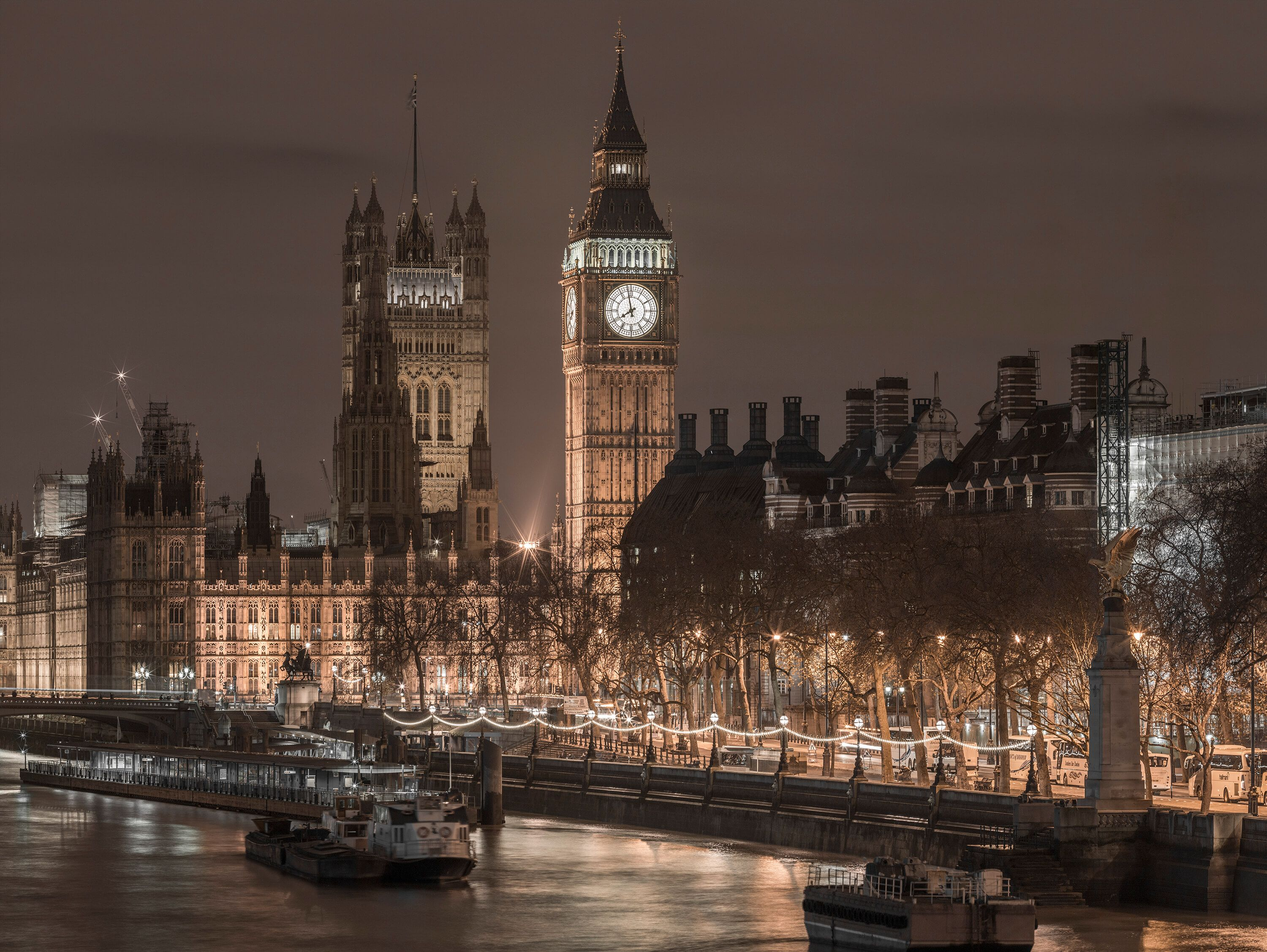 Big Ben and Westminster Abby