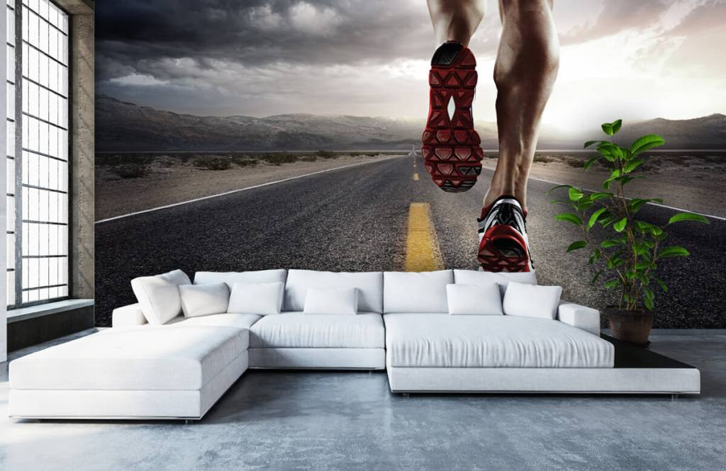 Sports & Fitness - Legs of a rider - Garage 7