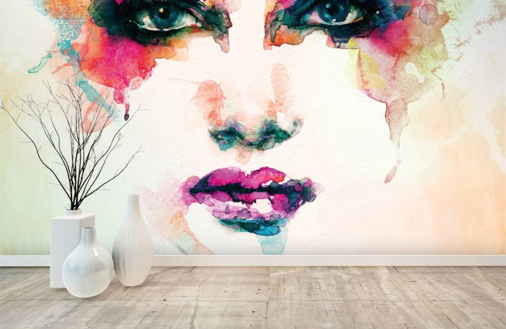 Portets and faces - Abstract head - Living room 1