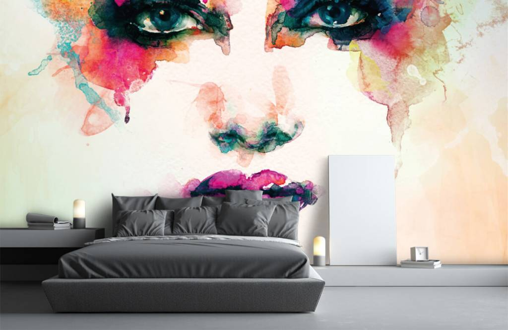 Portets and faces - Abstract head - Living room 7