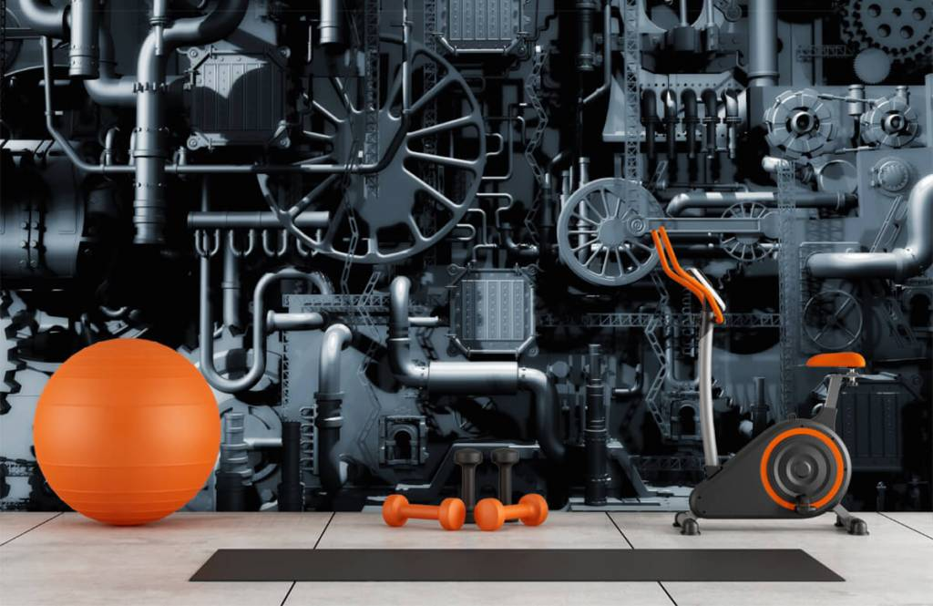 Elements - Oude machine - Garage 8