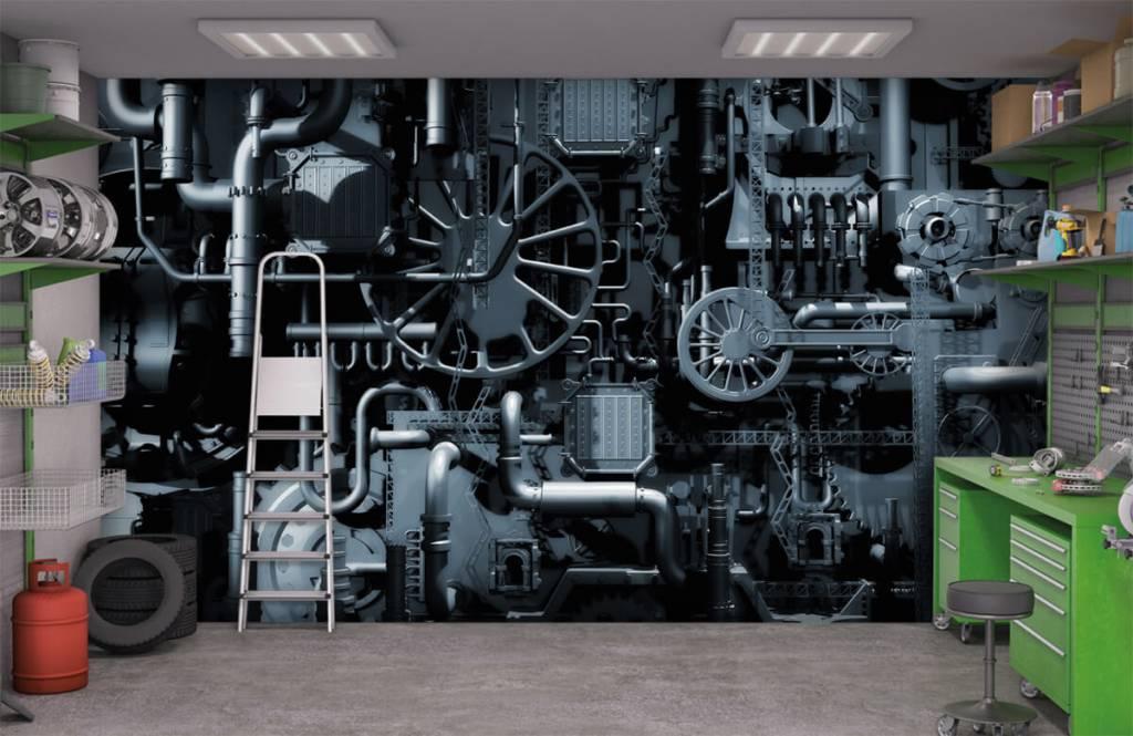 Elements - Oude machine - Garage 9