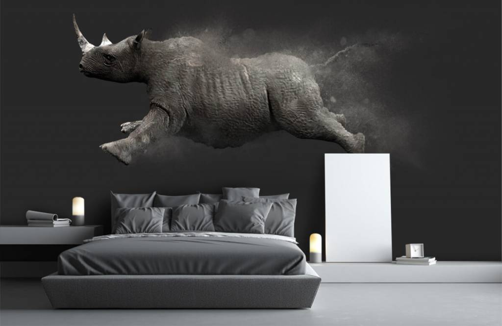 Other - Jumping rhino - Teenage room 1