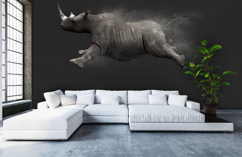 Other - Jumping rhino - Teenage room 4