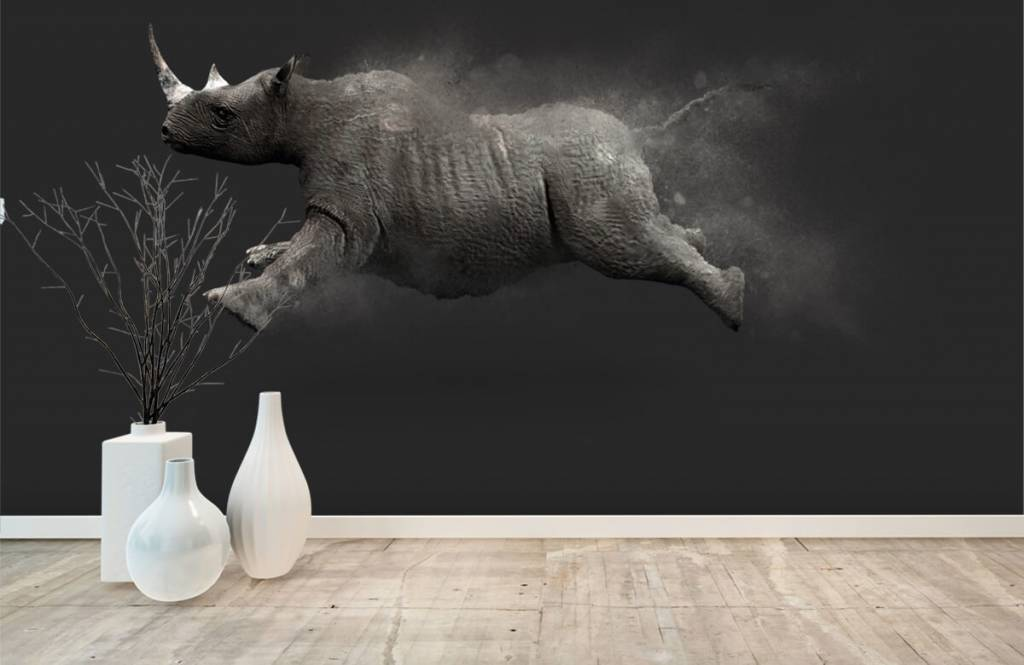 Other - Jumping rhino - Teenage room 7