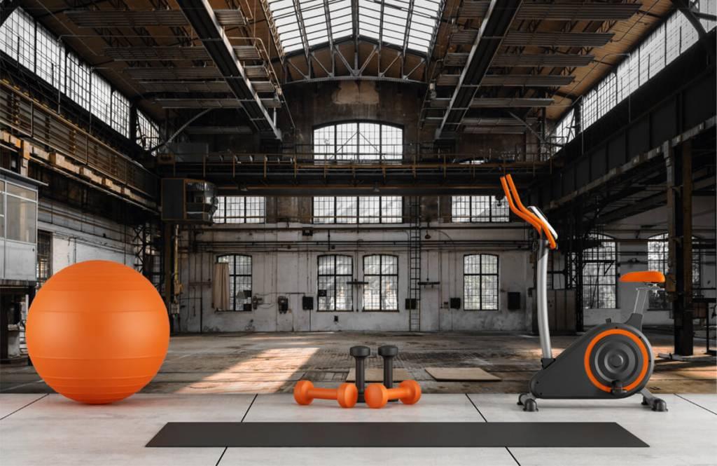 Buildings - Abandoned industrial hall - Bedroom 8