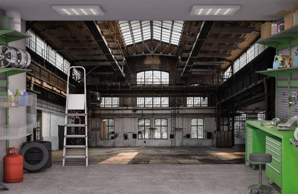 Buildings - Abandoned industrial hall - Bedroom 9