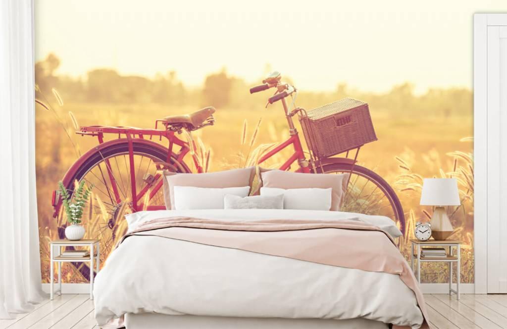 Landscape wallpaper - Vintage bike - Bedroom 1