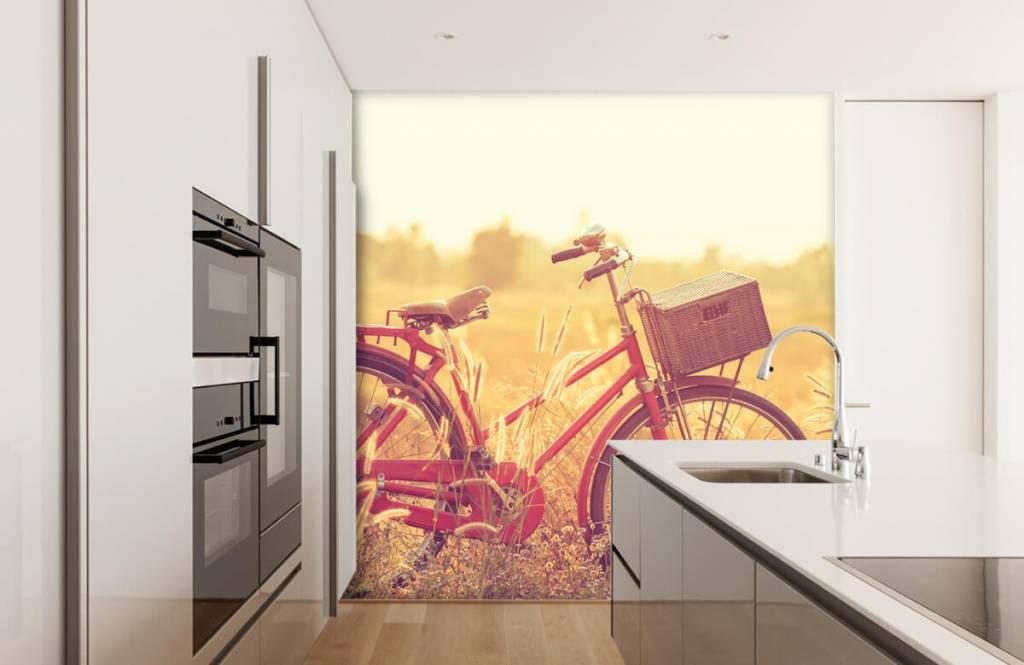 Landscape wallpaper - Vintage bike - Bedroom 3