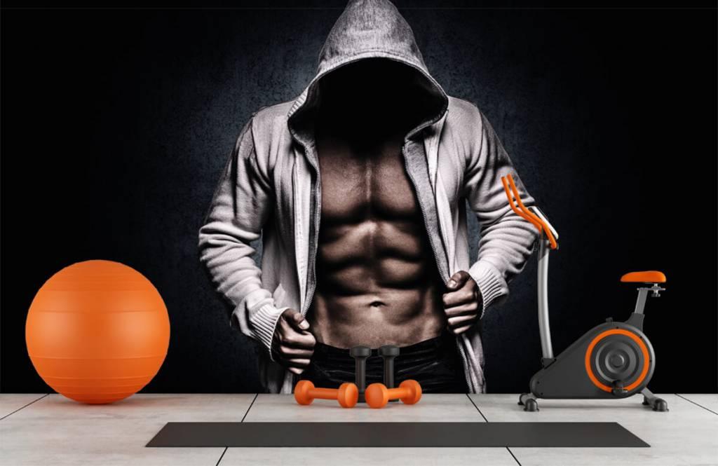 Fitness - Muscular man - Hobby room 1