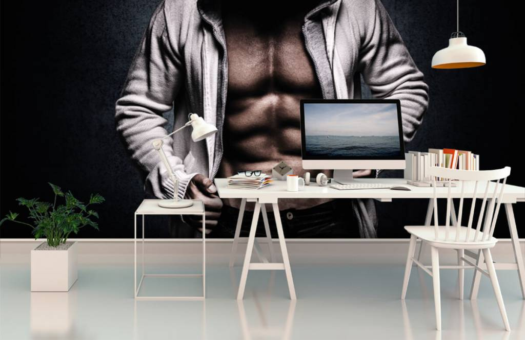 Fitness - Muscular man - Hobby room 3
