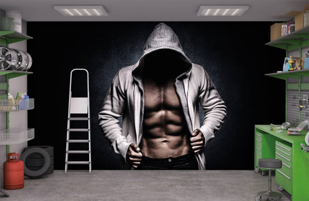 Fitness - Muscular man - Hobby room 4