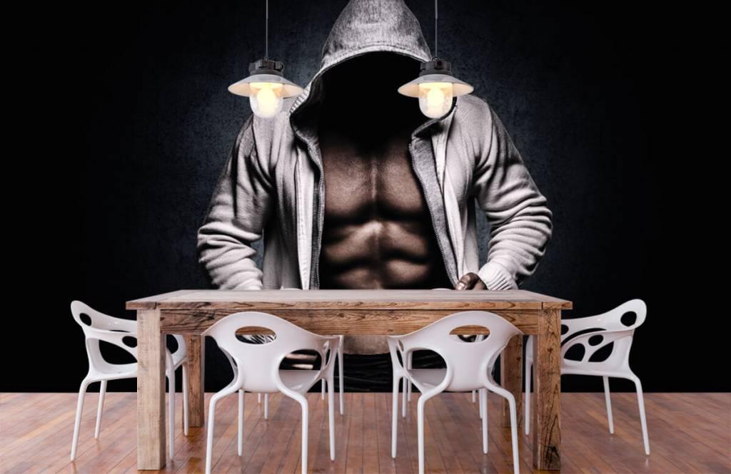 Fitness - Muscular man - Hobby room 8