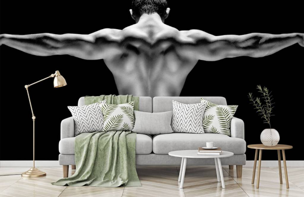 Fitness - Man with outstretched arms - Garage 5