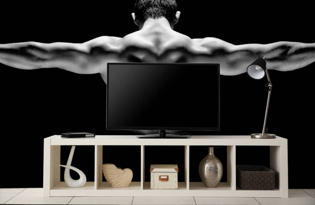 Fitness - Man with outstretched arms - Garage 7