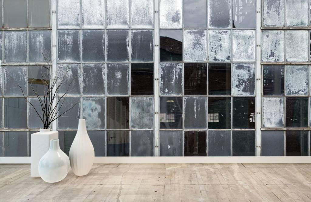 Buildings - Old factory window - Hobby room 8